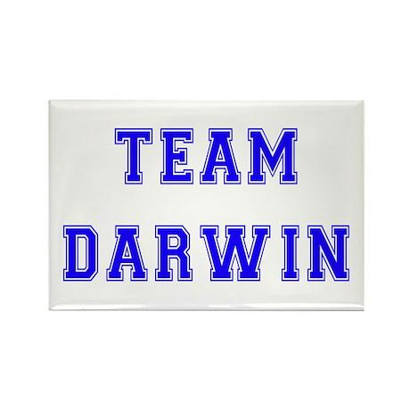 Team Darwin Rectangle Magnet (10 pack)