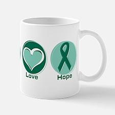 Peace Love Green Hope Mug