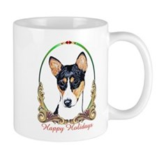 Mug/ Holiday Basenji