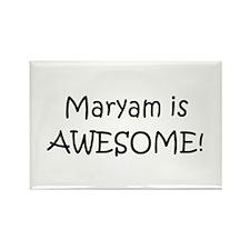 Cute Maryam Rectangle Magnet