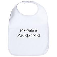 Cute I love maryam Bib