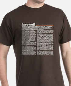 Farewell Sermon T-Shirt