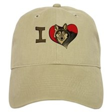 I heart wolves Cap