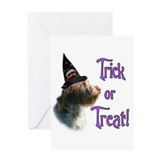 Wire Griff Trick Greeting Card