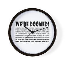 Doomed! Wall Clock