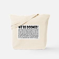 Doomed! Tote Bag