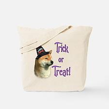Shiba Trick Tote Bag