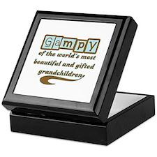 Gampy of Gifted Grandchildren Keepsake Box