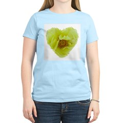 Hearts and Roses #4331 Women's Pink T-Shirt