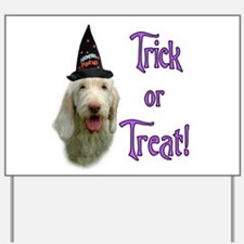 Spinone Trick Yard Sign