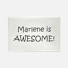 Cute Marlene Rectangle Magnet