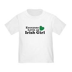 Everyone Loves an Irish Girl T