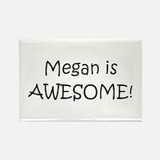 Cute Megan Rectangle Magnet