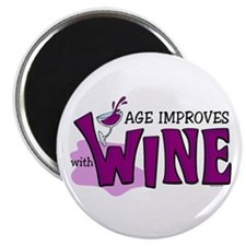 Age Improves With Wine Magnet