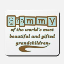 Grammy of Gifted Grandchildren Mousepad