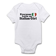 Everyone loves an italian girl Infant Creeper