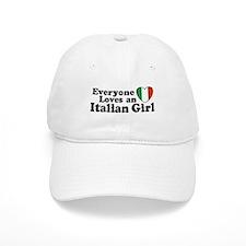 Everyone loves an italian girl Baseball Cap
