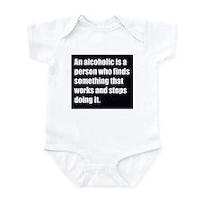 alcoholic Infant Bodysuit
