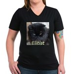 Eastern Elite Women's V-Neck Dark T-Shirt