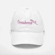 Pink Trombone Baseball Baseball Cap