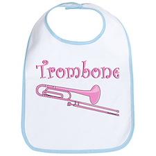 Pink Trombone Bib