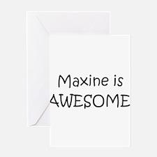 Cute Maxine Greeting Card