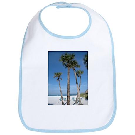 Beach Palms Bib