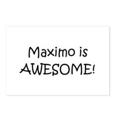 Cool Maximo Postcards (Package of 8)