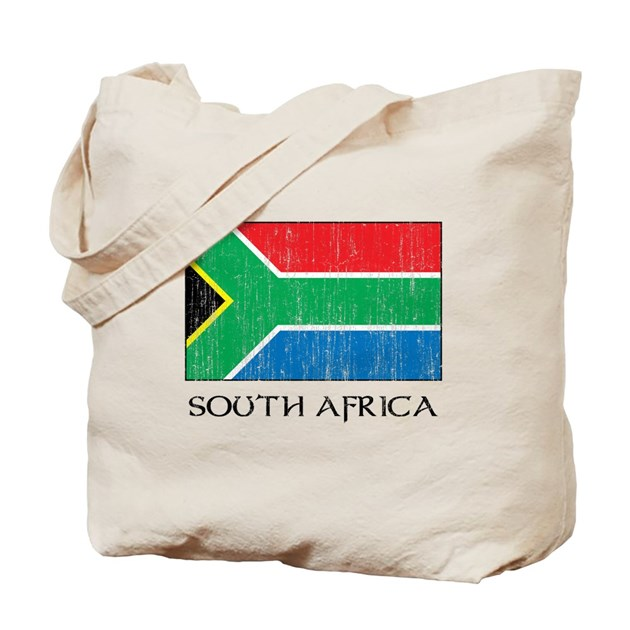 south africa flag tote bag by fullmoonemp. Black Bedroom Furniture Sets. Home Design Ideas