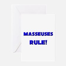 Masseuses Rule! Greeting Cards (Pk of 10)
