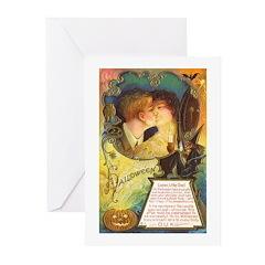 Romantic Halloween Greeting Cards (Pk of 10)