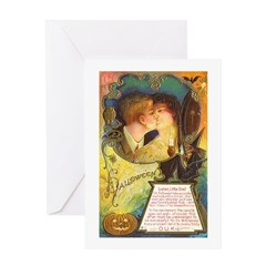 Romantic Halloween Greeting Card