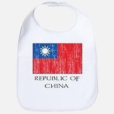 Republic of China Flag Bib
