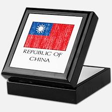 Republic of China Flag Keepsake Box