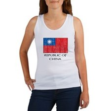 Republic of China Flag Women's Tank Top