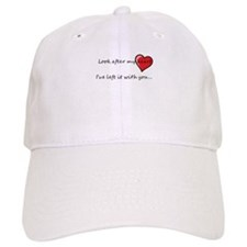 Look after my heart Baseball Cap