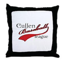 Cullen Baseball League Throw Pillow