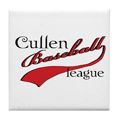 Cullen Baseball League Tile Coaster
