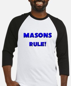 Masons Rule! Baseball Jersey