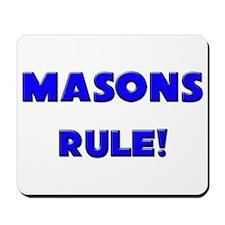 Masons Rule! Mousepad