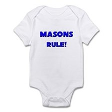 Masons Rule! Infant Bodysuit