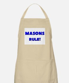 Masons Rule! BBQ Apron