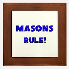 Masons Rule! Framed Tile