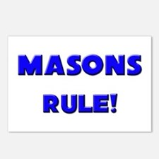 Masons Rule! Postcards (Package of 8)