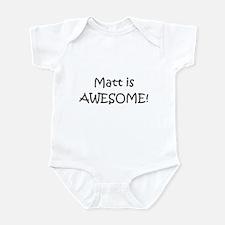 Unique Matt Infant Bodysuit