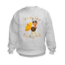 My First Thanksgiving Sweatshirt