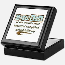 Grandad of Gifted Grandchildren Keepsake Box