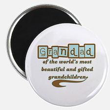 "Grandad of Gifted Grandchildren 2.25"" Magnet (10 p"