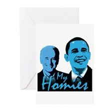 My Homies Obama and Biden Greeting Cards (Pk of 20