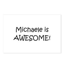 Unique Michael awesome Postcards (Package of 8)
